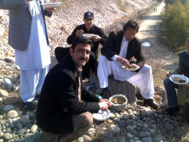 Imran en-route to swabi